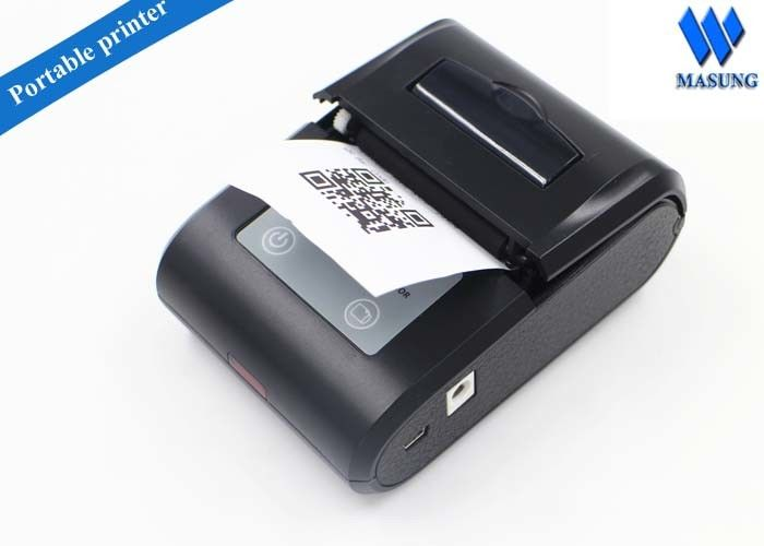 Mini Portable Thermal Printers Thermal Barcode Printer For Retails