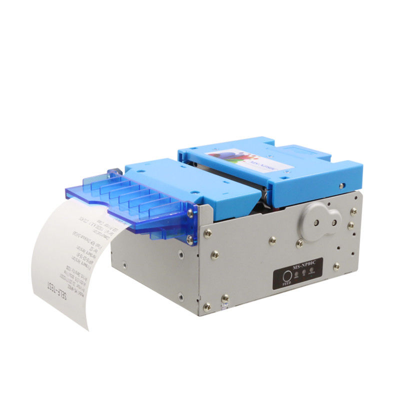Durable Thermal Ticket Printer 80mm Integrated With Paper Presenter / Auto Cutter